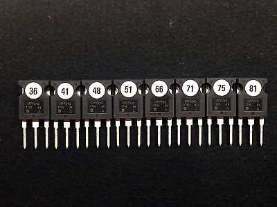 DIY Audio matched 8x IRFP240 MOSFET für PASS LABS CLONE Turbo selektiert neu