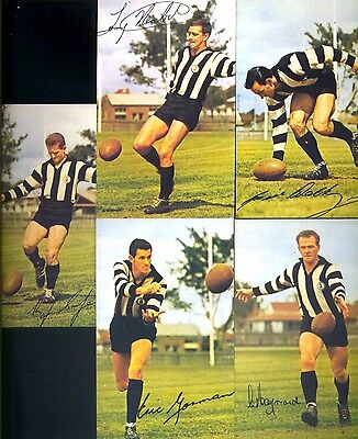 WAFL CARDS MOBIL 1965 SIGNED : 5 PLAYERS from SWAN DISTRICTS  NO RESERVE!!!