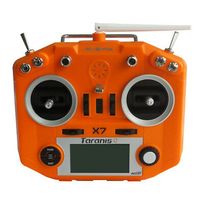 FrSky ACCST Taranis Q X7 2.4GHz 16CH Transmitter White Blue Orange Purple  AU