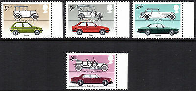 Great Britain Stamps: 1982 British Motor Cars. mint