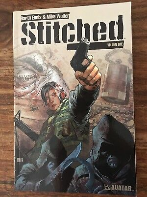 Stitched Garth Ennis and Mike Wolfer  (Paperback, 2012)