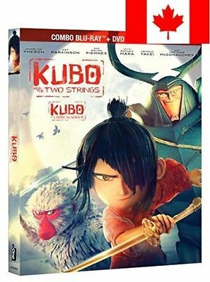 Kubo and the Two Strings Combo [Blu-ray + DVD + Digital Copy] (Bilingual)