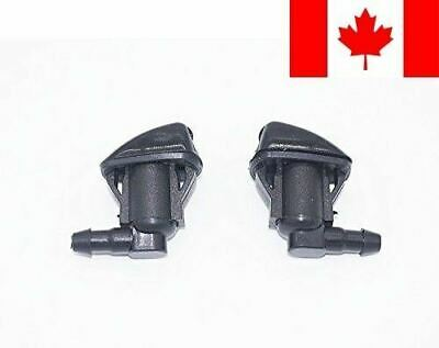 2 Front Windshield Washer Nozzle Jet Kit fit for 2004-2010 Toyota Sienna, Rep...