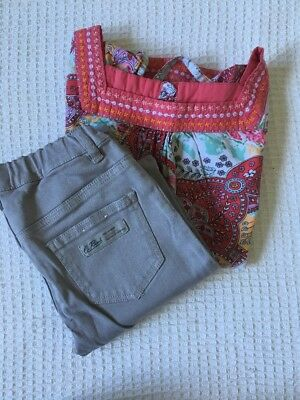Girls Size 10 Country Road Jeans & Cotton On Top