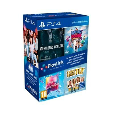 Pack 4 Juegos Ps4 Playlink/videoconsolas Ps Ps4 Sony Nintendo 2Ds 3Ds Gamepad