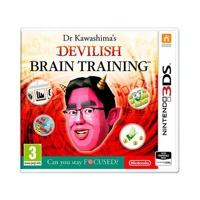 Juego Nintendo 3Ds Devilish Brain Training/videoconsolas Ps Ps4 Sony Nintendo