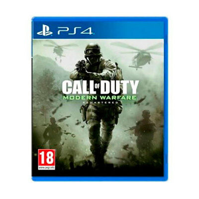 Juego Sony Ps4 Modern Warfare Remastered/videoconsolas Ps Ps4 Sony Nintendo 2Ds