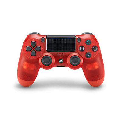 Gamepad Original Sony Ps4 Dualshock Rojo Crystal/videoconsolas Ps Ps4 Sony