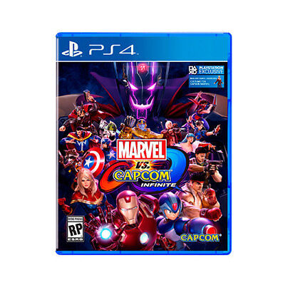 Juego Sony Ps4 Marvel Vs Capcom Infinite/videoconsolas Ps Ps4 Sony Nintendo 2Ds