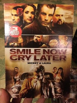 Smile Now, Cry Later (DVD, 2014) NEW, Sealed,  Patrick Nuo, Sabrina Perez