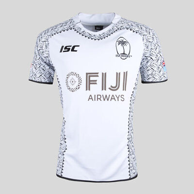 Fiji Rugby 2018 ISC 7's Sevens Home Jersey Adults, Kids & Toddlers Sizes!