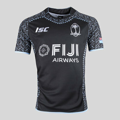 Fiji Rugby 2018 ISC 7's Sevens Away Jersey Adults Sizes S-5XL!