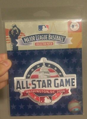 20575082cc6 Official 2018 Washington DC Nationals MLB Baseball All Star Jersey Patch  Game