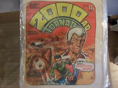 2000 AD and Tornado Comic No 151 1980 Excellent Condition