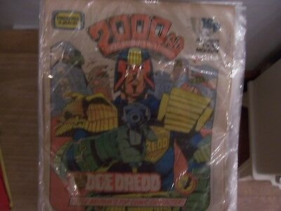 2000AD Featuring Judge Dredd Comic No 193 1981 Excellent Condition