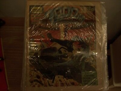 2000AD Featuring Judge Dredd Comic No 197 1981 Excellent Condition