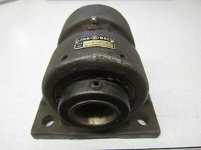 New Link belt 1-1/4 Pillow Block Bearing 4 bolt solid base
