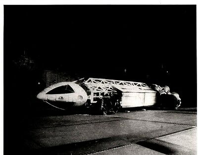 Eagle Transporter 10 by 8 Black n White photo Space 1999 - Gerry Anderson