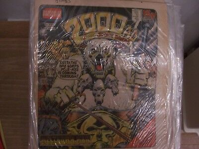 2000AD Featuring Judge Dredd Comic No 205 1981 Excellent Condition
