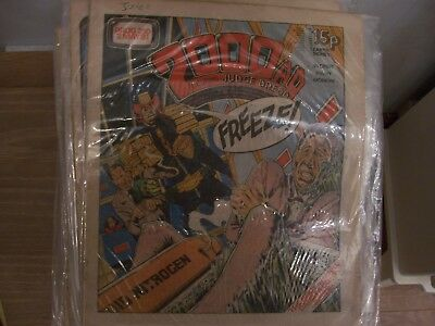 2000AD Featuring Judge Dredd Comic No 210 1981 Excellent Condition