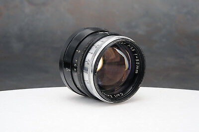 - Rare Carl Zeiss Sonnar 50mm f1.5 Lens M39 Leica Thread Mount
