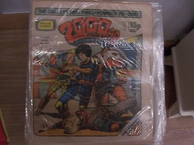 2000AD Featuring Judge Dredd Comic No 218 1981 Excellent Condition