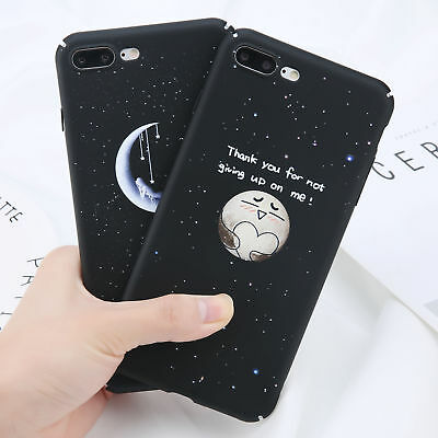 Ultra-thin Sky Cute Pattern PC Hard Back Case Cover For Apple iPhone 8 6s 7 Plus