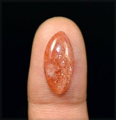 7.30 Cts. 100 % Natural Chatoyant Red Sunstone Marquise Cabochon Loose Gemstones