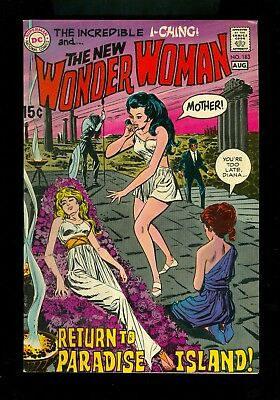 WONDER WOMAN #183 -- August 1969 -- VF Or Better