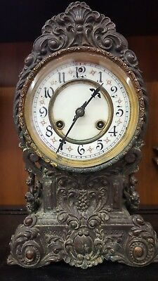 Antique vintage French Clock