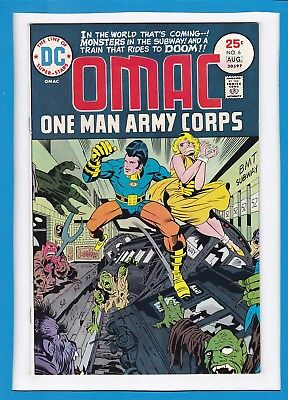 Omac...one Man Army Corps #6_August 1975_Very Fine_Jack Kirby_Bronze Age Dc!