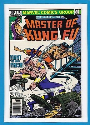 The Hands Of Shang-Chi, Master Of Kung-Fu #98_March 1981_Nm Minus_Bronze Age!