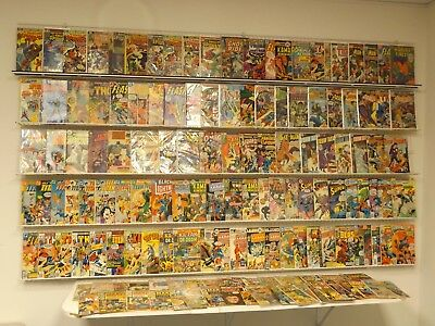 Huge Lot of 140 Silver/Bronze comics w/ Spider-Man, Flash, Teen Titans & more!
