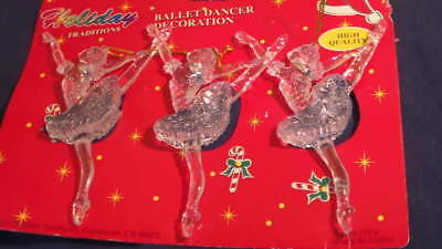 Ballet Dancers Holiday Decorations ~ Great as  Stocking Stuffer ~ Free Ship