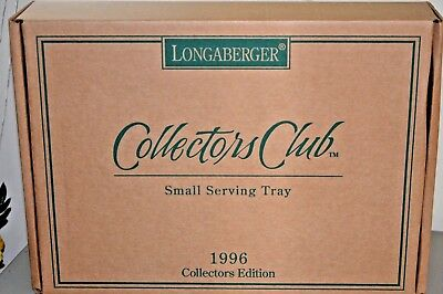 Longaberger Collectors Club Small Serving Tray
