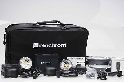 Elinchrom ELB 400 Dual Head Pro To Go Kit                                   #781