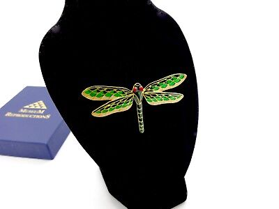 Chrysler Museum Of Art Dragonfly Pin,box,papers