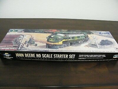 Vintage John Deere Ho Scale Athern Train Track And Power Supply Only In Box