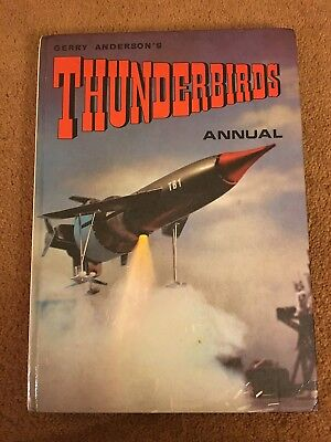 Gerry Anderson's Thunderbirds Annual 1967 overall VGC