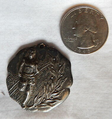 1916 1st Prize Medal Plunging Scout Camp 32mm Dieges & Clust Boy Scout(?)
