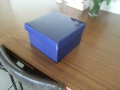 Brand-New 10X Large Gift Boxes 220X220X140 With Lids Violet Color Boxes