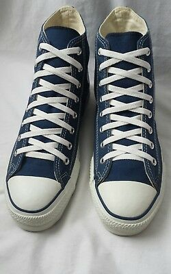 Converse In made USA Ventage  New 1990's all star hi top blue & white size 11M