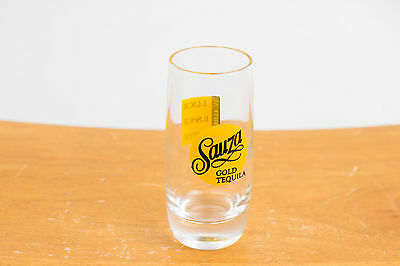 Sauza Gold Tequilla Collectable Shot Glass - 1. Lick 2. Shot 3. Bite