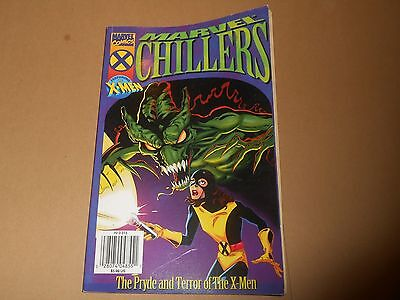 Marvel Chillers Comic - The Pryde & Terror of the X-Men + Poster