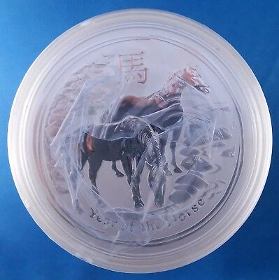 2014 Australia Year of the Horse 1 Ounce .999 Silver Coin from Sealed Roll