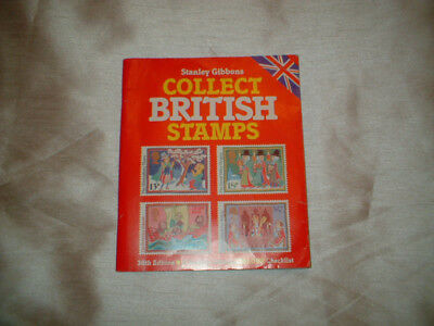 Stanley Gibbons Collect British Stamps 1988 38th Edition