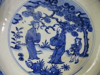 Very Beautiful Early Looking Chinese Bowl - 6 Character Mark Base Extremely Rare