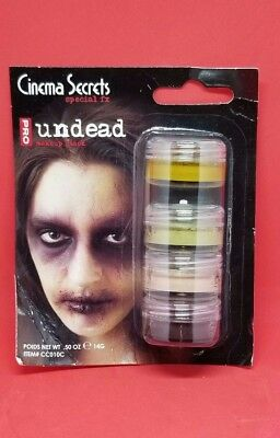 Undead Stack Grease Makeup Halloween Effects Cinema Secrets Party Costume New