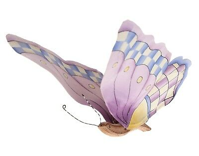Butterfly Ceiling Decoration Decor Purple Wood Mobile Fairy Flying Butterflies