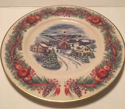 LENOX 2000 Annual Limited Edition Plate VILLAGES AROUND THE WORLD NE